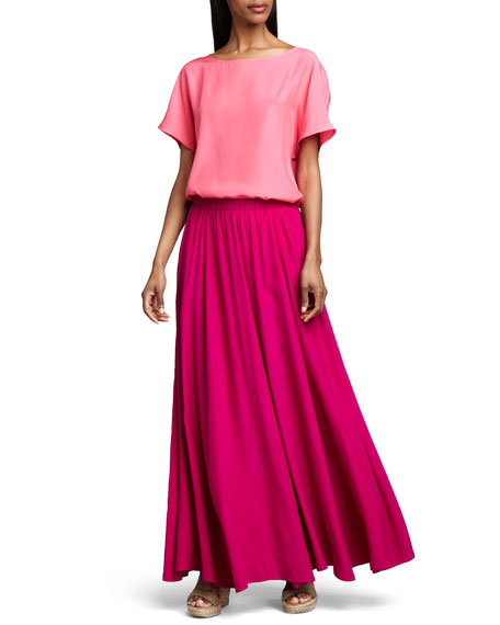 Pull-On Maxi Skirt