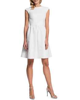Cynthia Steffe Presley Cap-Sleeve Dress