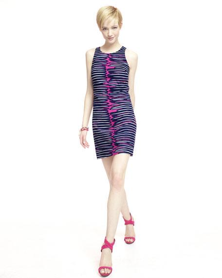 Loma Printed-Jersey Sleeveless Dress