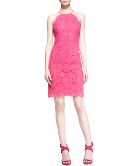 Trina Turk Parry Lace Sleeveless Dress