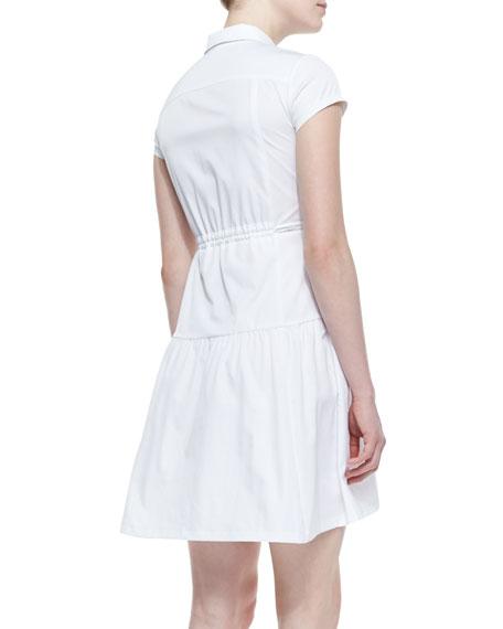 Melody Arch-Waist Poplin Dress