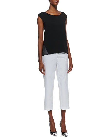 Cabana Twill Cropped Pants