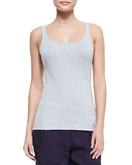 Eileen Fisher Organic Cotton Slim Long Tank, Women's