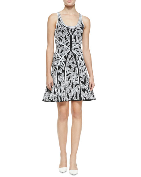 Ilsa Fit-and-Flare Sleeveless Dress