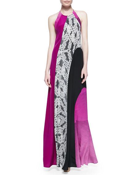 Naomi Halter Maxi Dress