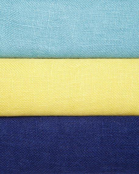 Linen One-Button Jacket, Petite