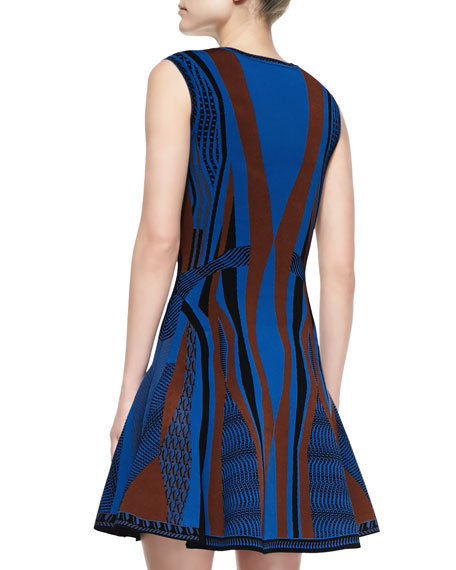 Gabby Sleeveless Fit & Flare Dress