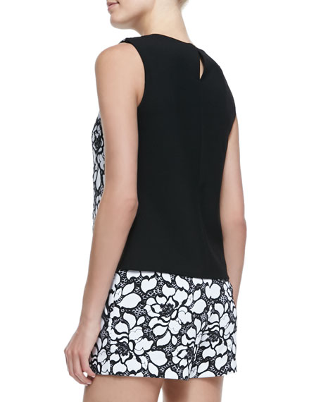 Betty Lace-Front Tank