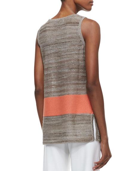 Serape Stripe Knit Tank, Women's