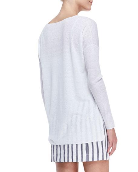 Sag Harbour Oversize Lightweight Sweater