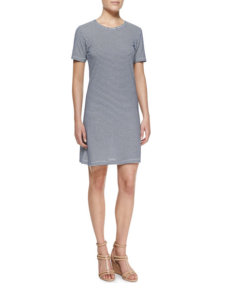 Kalix Horizontal-Stripe Jersey Dress