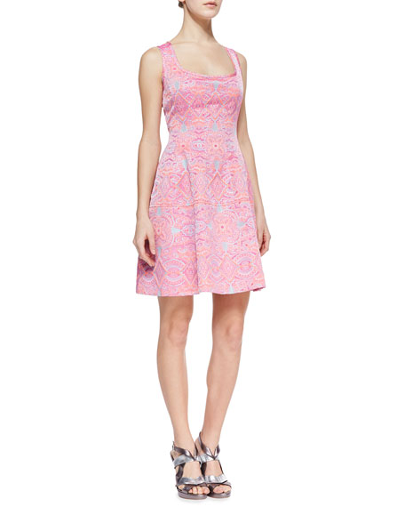 Nanette Lepore Waterfront Embroidered A-Line Dress