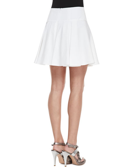 Bliss Pleated Twill Full Skirt