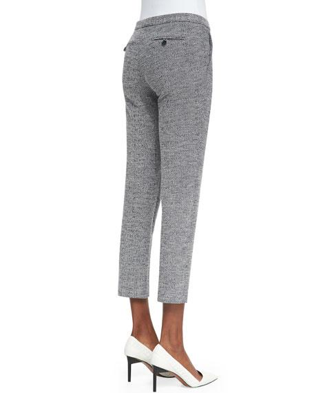 Item Cropped Tweed Pants