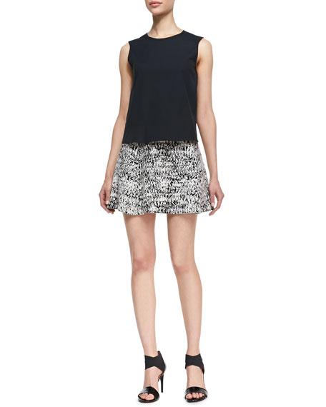 Doreene C Tweedscape A-Line Skirt