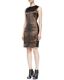 Reed Krakoff Printed Side-Panel Dress