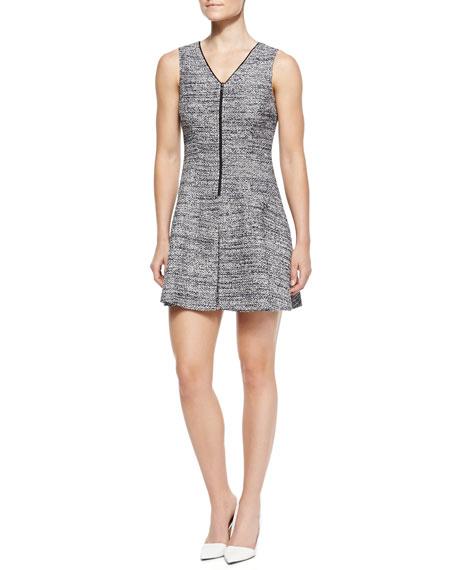 Cushy Haddie Tweed Sleeveless Dress