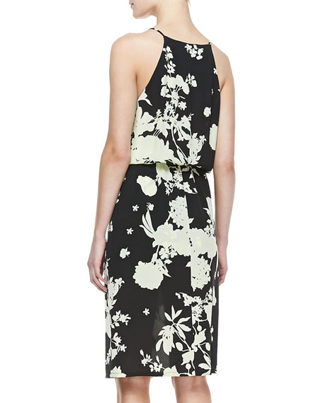 Kanan Floral-Print Silk Dress