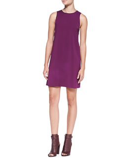Alice + Olivia Serina Open-Back A-Line Dress