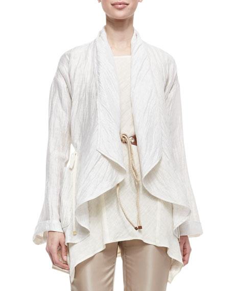 Lazzar Linen-Blend Topper Jacket