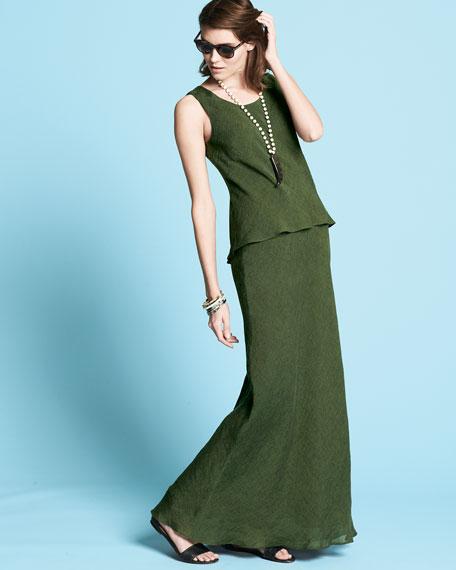 Kalare Sleeveless Linen Dress