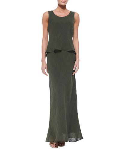Lafayette 148 New York Kalare Sleeveless Linen Dress