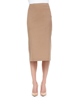 Lafayette 148 New York Pracilla Over-the-Knee Pencil Skirt