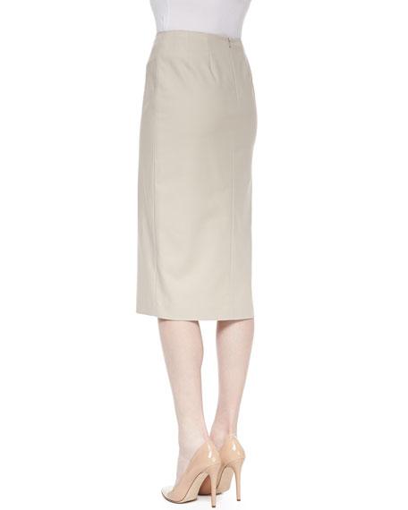 Dayna Over-the-Knee Skirt with Side Slit