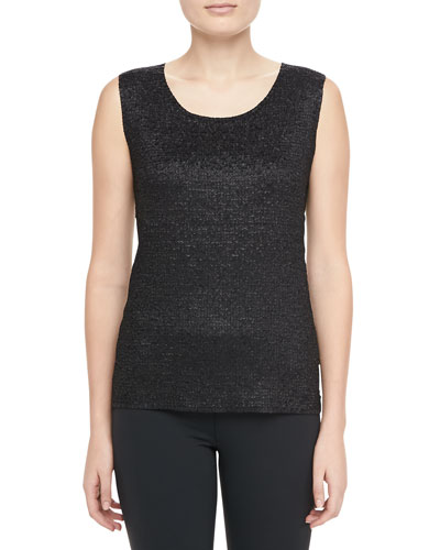 Sweet Thing Tank, Black, Petite