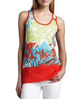 Berek Knit Pretty-In-Papaya Shell, Women's