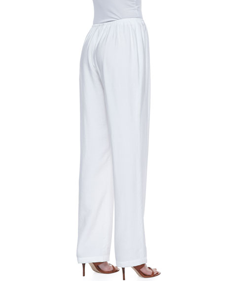 Cabo Knit Straight-Leg Pants, Pants, Women's