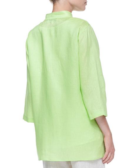 Tissue Linen Big Shirt