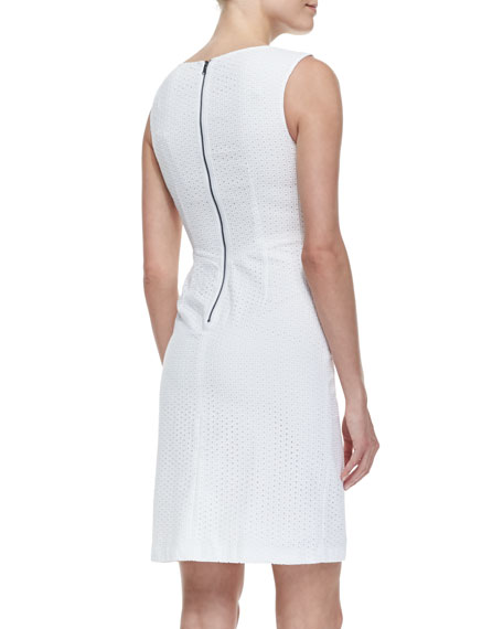 Myra Sleeveless Sheath Dress