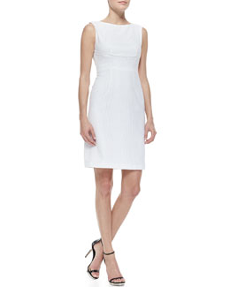 T Tahari Myra Sleeveless Sheath Dress