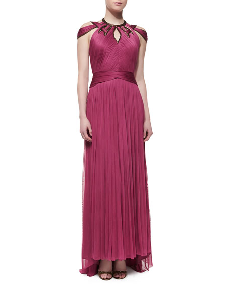 Catherine Deane Matilda Pleated Tulle Gown