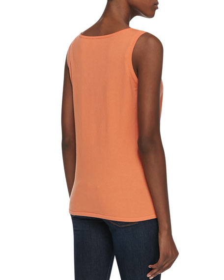 Scoop-Neck Pima Cotton Tank
