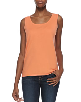Belford Scoop-Neck Pima Cotton Tank