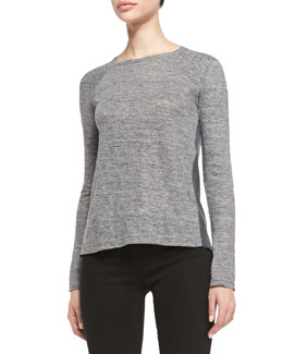 MARC by Marc Jacobs Carmen Long-Sleeve Slub Tee