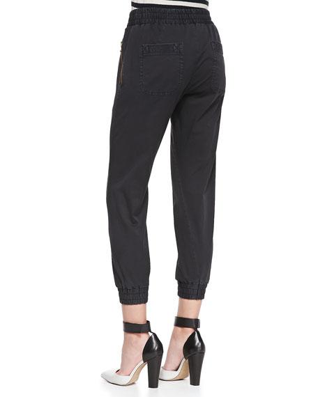 Samantha Pull-On Twill Pants
