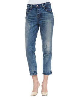 MARC by Marc Jacobs Jessie Boyfriend Cropped Denim Jeans