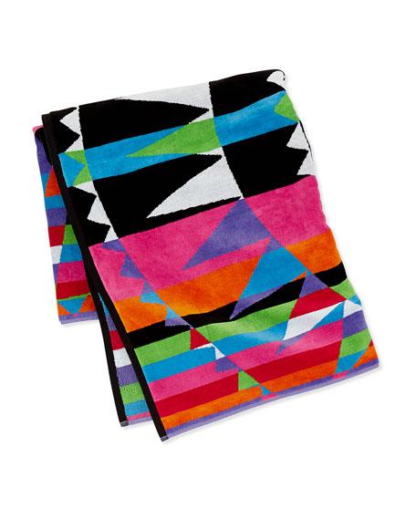 Pendleton Ray-Print Beach Towel