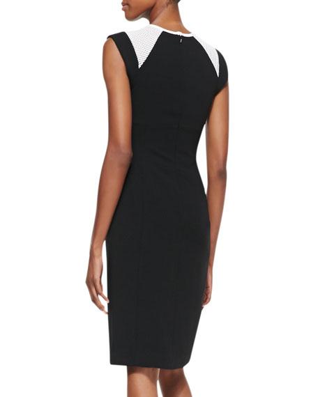 Dayton Short-Sleeve Sheath Dress