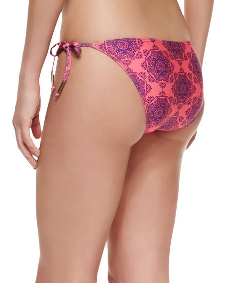 Moselle Printed Tie-Side Swim Bottom