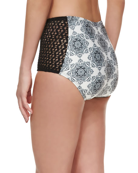 Moselle High-Waist Swim Bottoms
