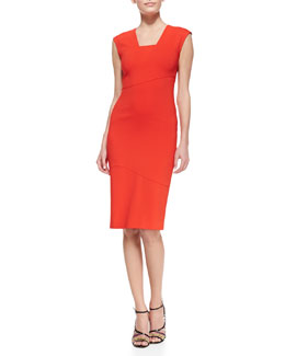 Raoul Cara Contour Sheath Dress