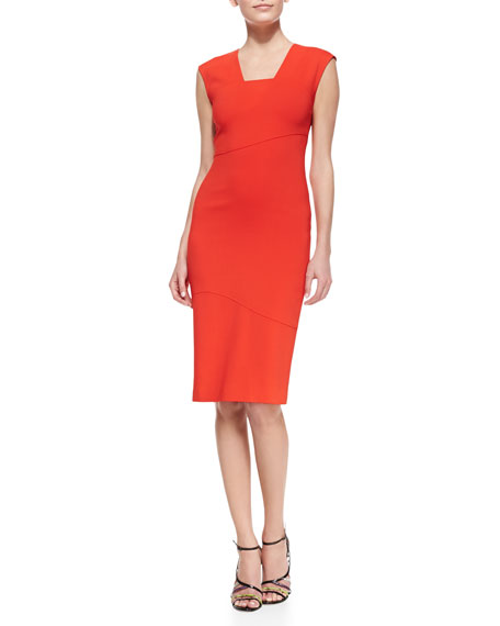 Cara Contour Sheath Dress