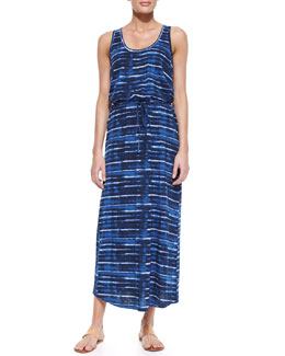 Soft Joie Dimzni Striped Drawstring Maxi Dress