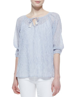 Soft Joie Legapsi Cotton 3/4-Sleeve Top