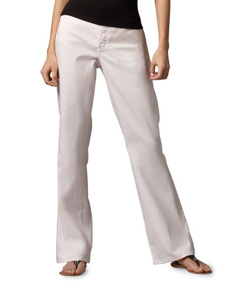 Sarah Pastel Boot-Cut Jeans, Petite