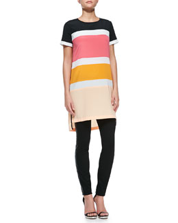 DKNY Colorblock T-Shirt Dress
